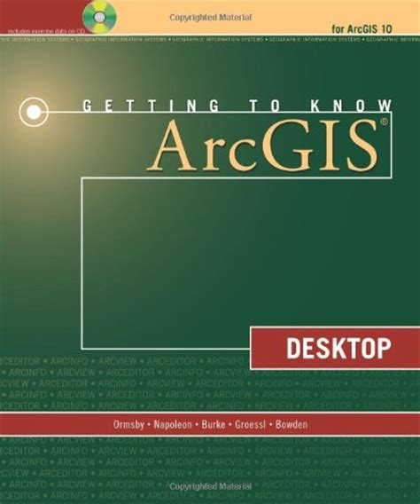 arcgis tutorial workbook books gis geographic information systems research