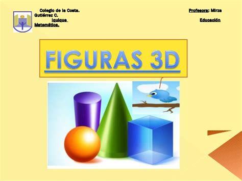 imagenes en 3d y 2d cuerpos geom 233 tricos