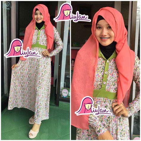 Soraya Mukena Green by Baju Muslim Modern Baju Muslim Wanita