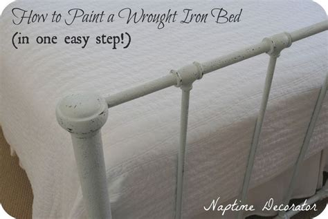 painting a metal bed frame 1000 ideas about iron bed frames on antique