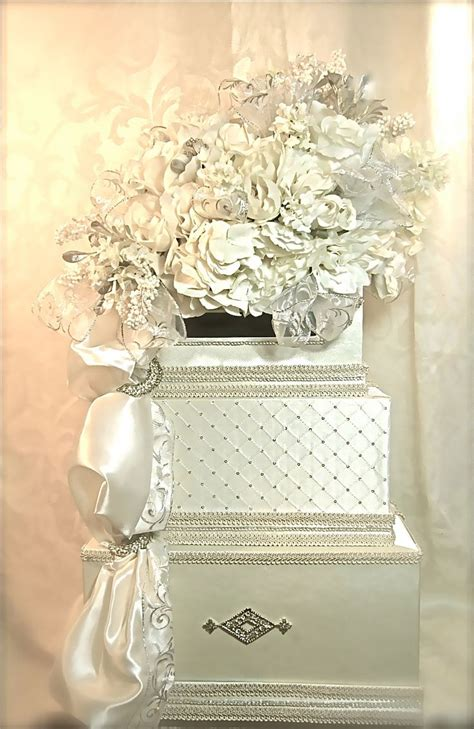 Gift Card Box For Wedding Reception - please do not order reserved for tina diamond wedding card box