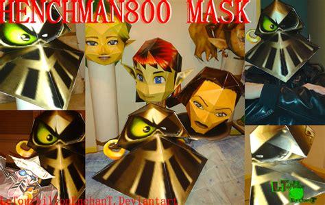 Rayman Papercraft - rayman m henchman 800 mask lte t papercraft by