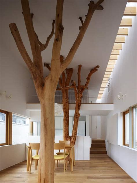the tree room garden tree house a house with memories trees included by hironaka ogawa associates