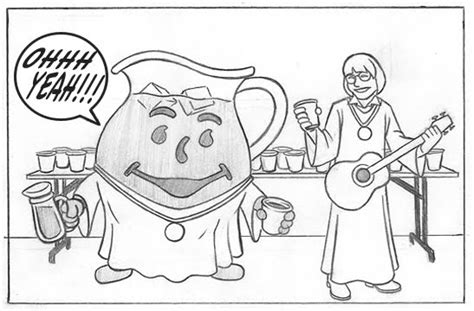 kool aid man coloring page sketch coloring page