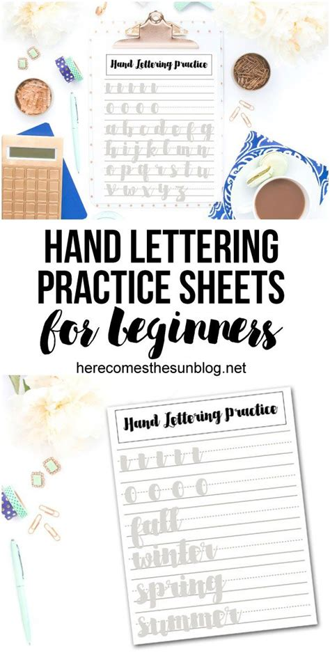 calligraphy handlettering for beginners beginner practice workbook for lettering and modern calligraphy with more than 40 different lettering fonts books lettering practice sheets for beginners here comes