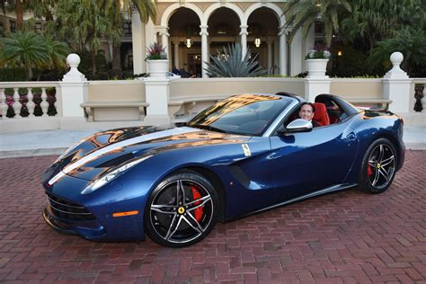 first ferrari first ferrari f60 america is delivered to its owner