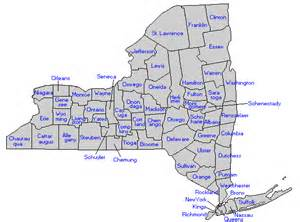 County Map Of New York by New York State Counties Genealogy New York State Library