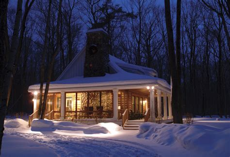 Log Cabin Plans With Wrap Around Porch hooked on fridays keeping cozy on cold days hooked on