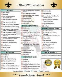 house cleaning checklist daily weekly monthly google