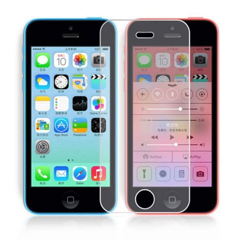 Tempered Glass Untuk Iphone 5c iphone 5c tempered glass screen protector gsm accessories