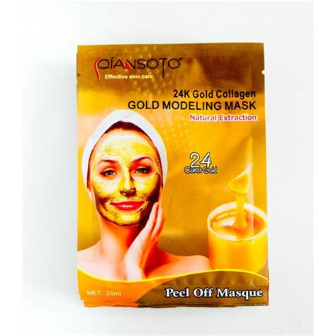 masker lumpur qiansoto 24k gold collagen my lovely