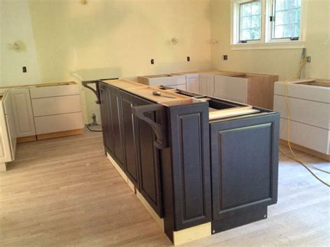 kitchen island from cabinets diy base kitchen cabinets home design ideas