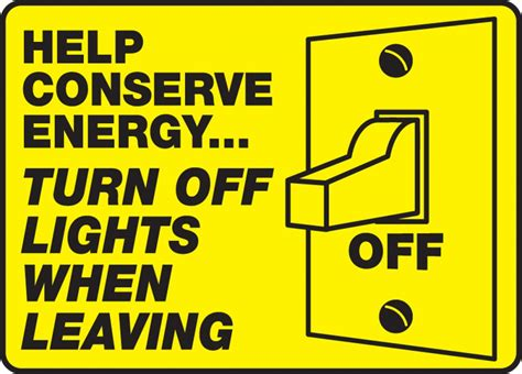 turn off light on phone safety signs safety tags and safety labels by accuform signs