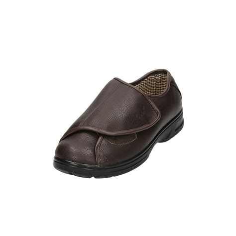 lightweight slippers dr keller mens velcro wide fit lightweight shoes