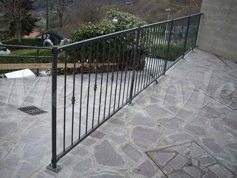 ringhiera balcone prezzi balcone parapetti 29 metalstyle