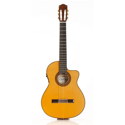 Gitar Akustik Elektrik Klasik Custom Cordoba 55fce Acoustic Electric Classical Guitar By