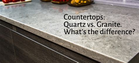 What Is The Difference Between Quartz And Granite Countertops by Countertops Quartz Vs Granite What S The Difference
