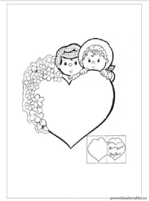 heart coloring pages for kindergarten preschool valentine coloring pages heart coloring pages