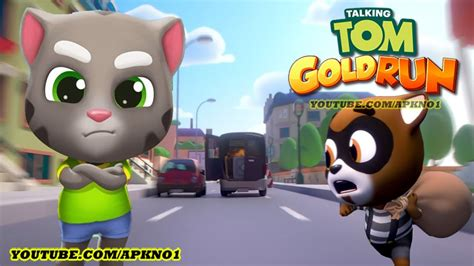 talking android talking tom gold run android gameplay talking tom ep 35