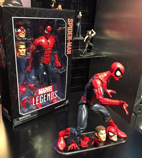 Spider Marvel Legends Hasbro 12 Figure fair 2016 marvel legends 12 quot spider photos marvel news