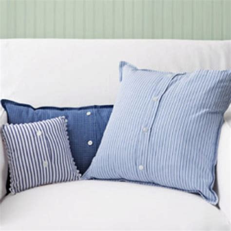 Where Is Pillow Made by Mens Shirts Made Into Pillow Covers Farm Fashions