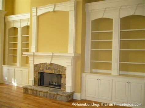 Built In Shelves Fireplace by Fireplace Wall Living Room
