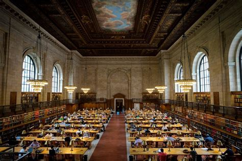 new york library reading room new york library s reading room opening in the wsj