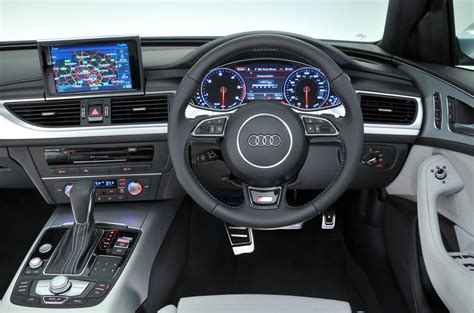 audi dashboard audi a6 performance autocar