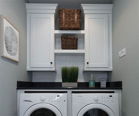 How To Install Cabinets In Laundry Room White Laundry Room Cabinets Homecrest Cabinetry