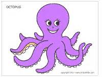 color of octopus octopus printable templates coloring pages