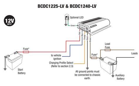 redarc dual battery isolator wiring diagram