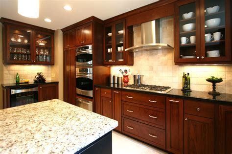 Small Elegant Kitchen Remodels   Contemporary   Kitchen   charlotte   by Walker Woodworking