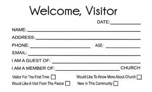 Church Visitor Card Template Word by 28 Church Visitor Card Template Word Modal Title