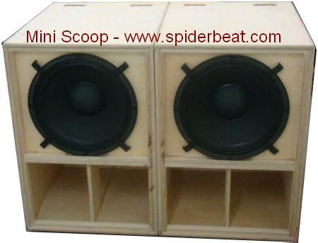 Speaker Mini Kotak box speaker mini scoop skema dan cara membuatnya