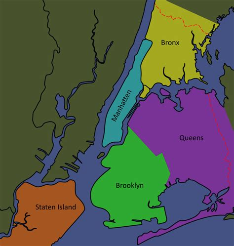map of new york city boroughs setting nyc veil of shadows