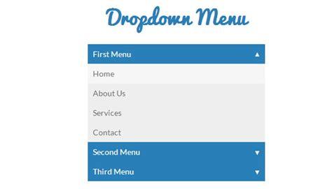 menu design using css3 25 free html5 css3 jquery dropdown menus