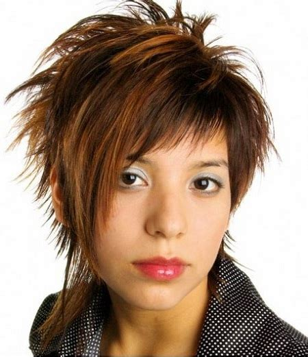 funky asymmetrical haircut style for older women 19 chic short and messy hairstyles styles weekly