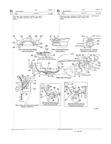 wiring diagram for farmall b 1947 farmall cub wiring diagram 31 wiring diagram images wiring diagrams mifinder co