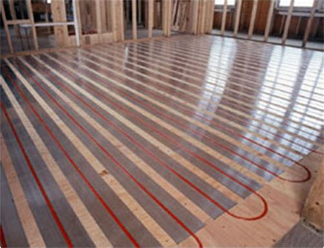 Wood Floor Radiant Heat by Radiant Heating Installations The Bad And