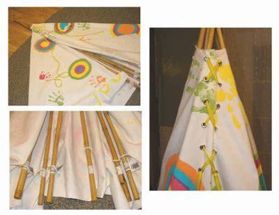Tenda Indian tenda degli indiani fai da te come fare a costruirla blogmamma it blogmamma it