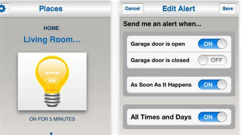 garage door opening app 5 garage door opening apps for ios devices appginger