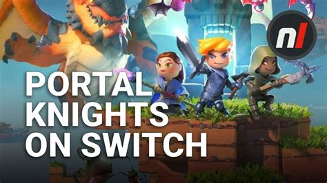 Switch Portal Knights Reg Usa minecraft but with production value portal knights on nintendo switch look