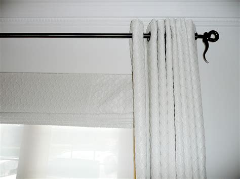 wrought iron pole ls lawrie interiors gallery for curtain tops for the