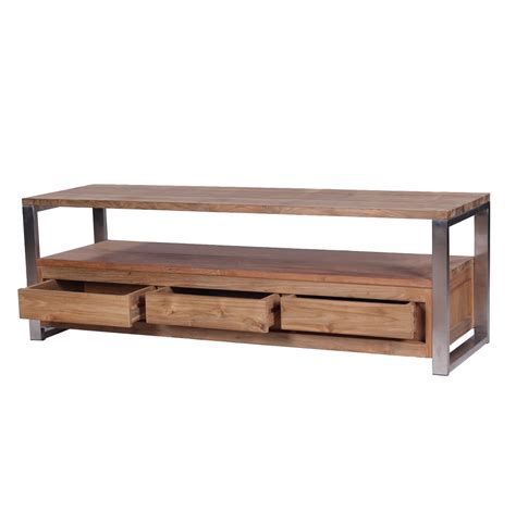 wood and metal tv stand wood and metal industrial tv stands search