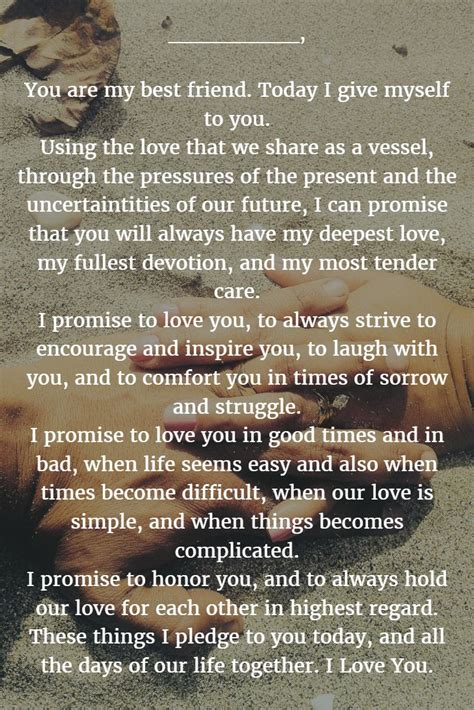 wedding quotes wedding vows 187 22 exles about how to
