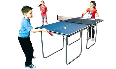 Meja Pingpong Tournament 100 ping pong table size foldable midsize table tennis