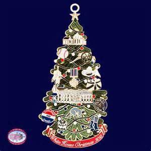 2015 white house christmas ornament