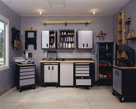 home garage ideas workbenches for garages home decoration club