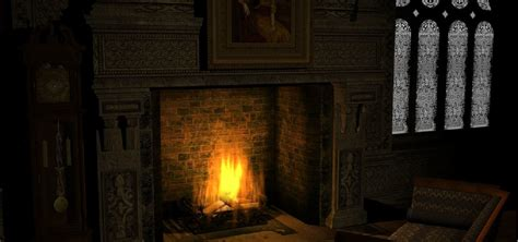 fashioned fireplace screensaver software informer