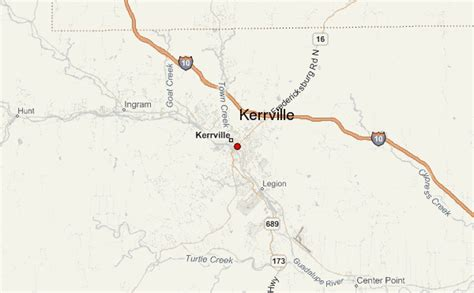 map kerrville texas kerrville location guide